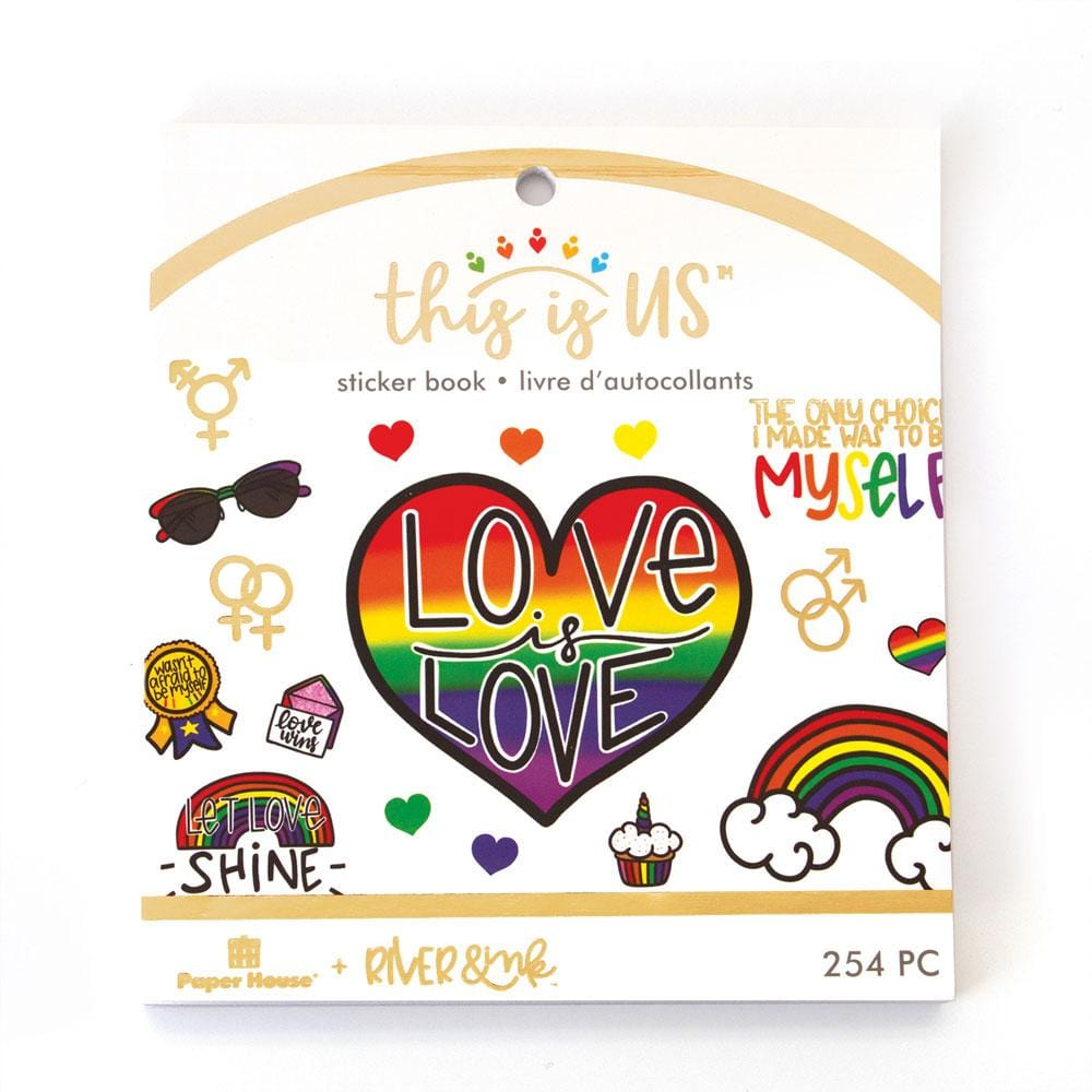 Love Is Love Mini Sticker Book