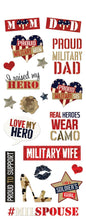 Load image into Gallery viewer, Homefront Girl Family Clear Stickers