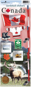 canada cardstock stickers