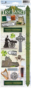 Ireland Cardstock Stickers