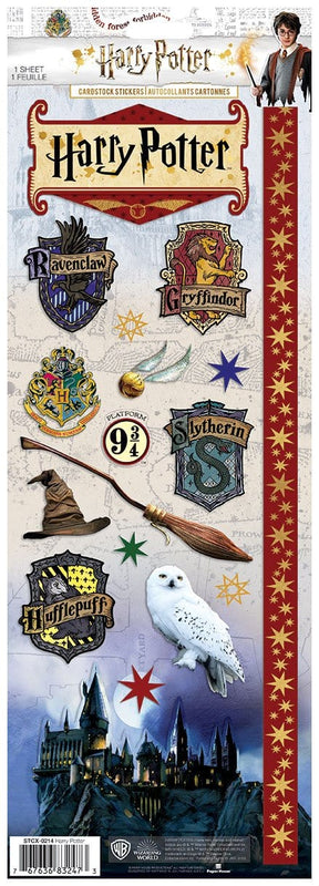 Harry Potter™ Cardstock Stickers