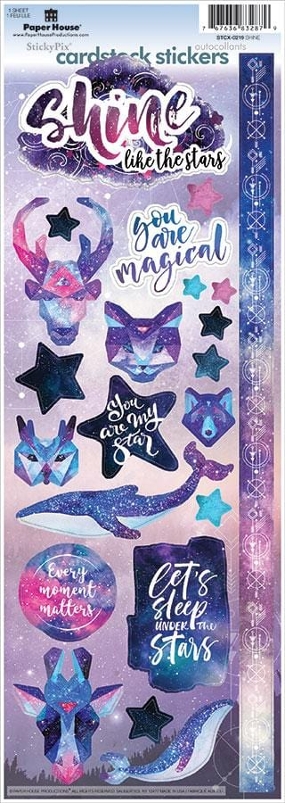 Shine Bright Cardstock Stickers