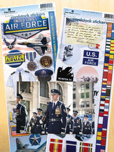 Load image into Gallery viewer, United States Air Force Cardstock Sticker Value Pack