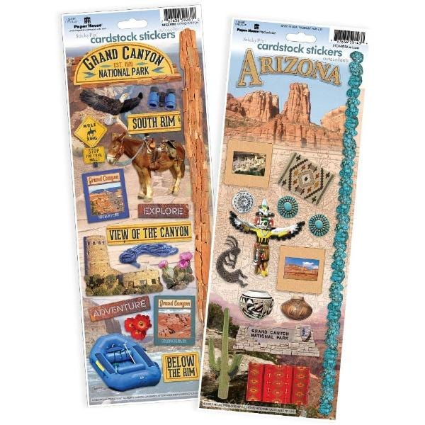 Grand Canyon cardstock sticker value pack