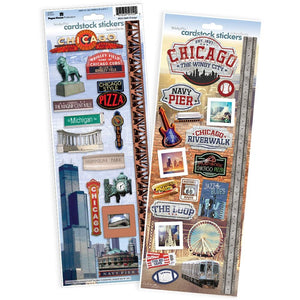 Chicago Cardstock Sticker Value Pack