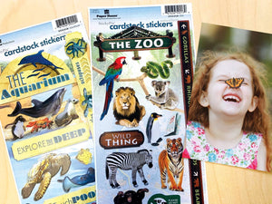 Zoo Cardstock Sticker Value Pack