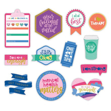 Load image into Gallery viewer, Self Care Brights Diecut Stickers