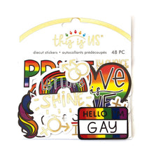 Load image into Gallery viewer, Love Is Love Diecut Stickers