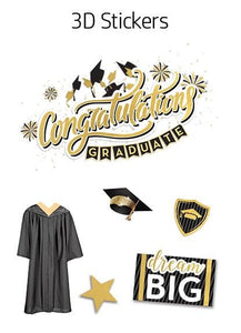 HP Moment Makers Graduation 3D Sticker Frame