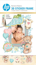 Load image into Gallery viewer, HP Moment Makers Baby 3D Sticker Frame