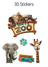 Load image into Gallery viewer, HP Moment Makers Zoo 3D Sticker Frame