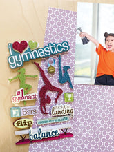 Load image into Gallery viewer, Gymnastics 3D Sticker