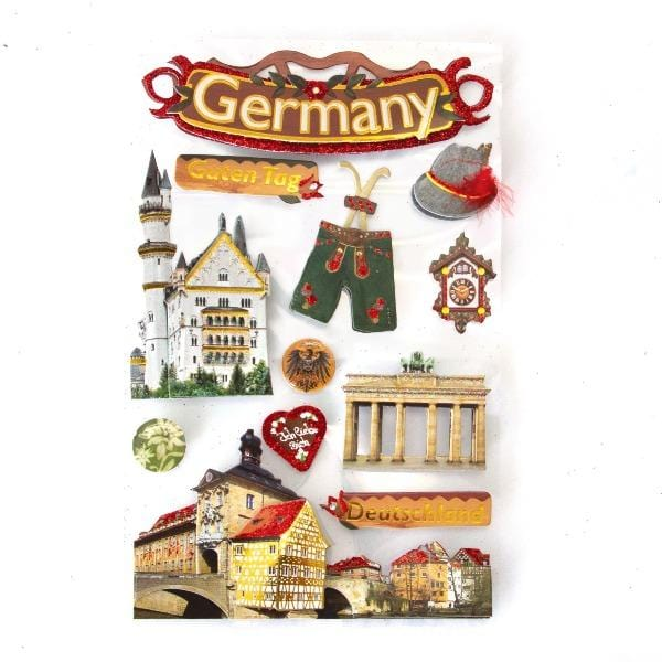 Germany 3d sticker