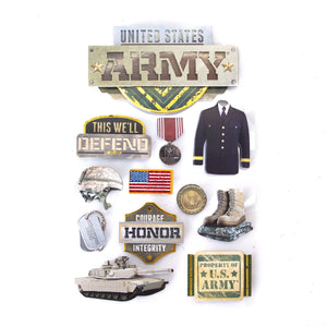 United States Army 3D Sticker