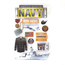 Load image into Gallery viewer, United States Navy 3D Sticker