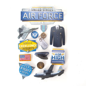 United States Air Force 3D Sticker