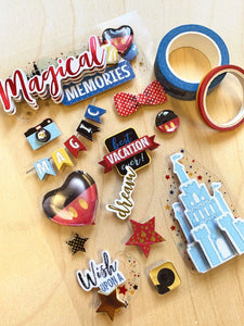 Magical Memories 3D Sticker