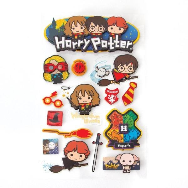 Harry Potter Chibi 3D Sticker
