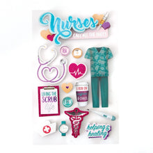 Load image into Gallery viewer, Nurses 3D Sticker
