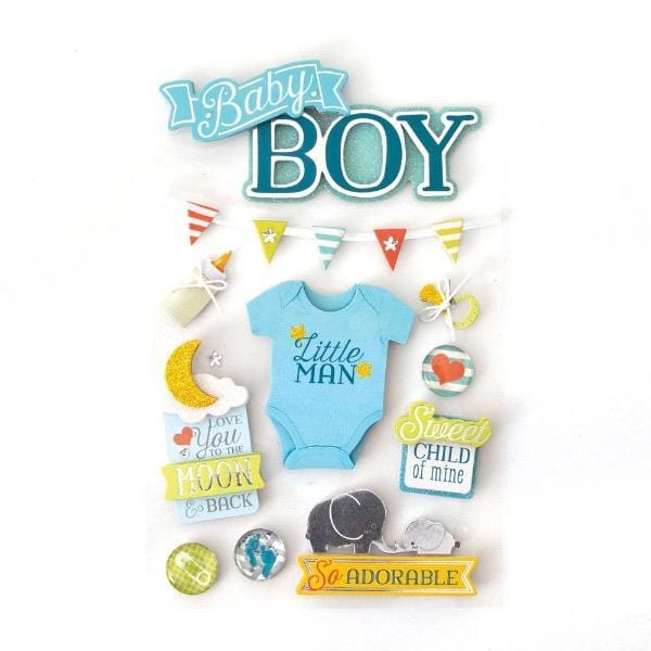 Baby Boy 3D Sticker
