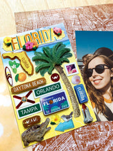 Load image into Gallery viewer, Travel-Florida Dimensional Sticker