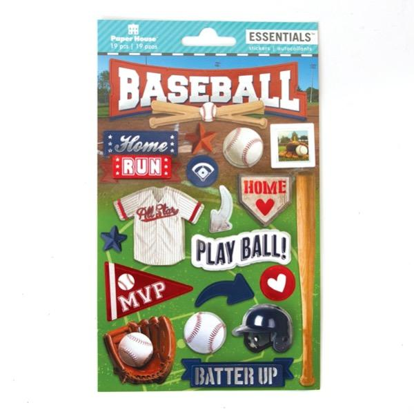 baseball essentials sticker