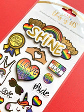 Load image into Gallery viewer, Let Love Shine Embellished Sticker