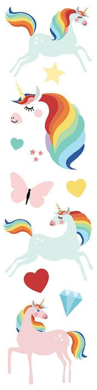 Unicorns 3D Title sticker