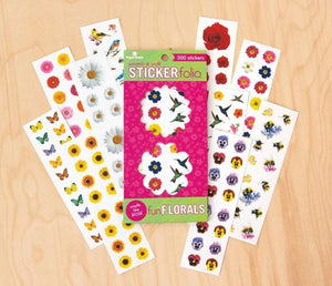 Fun Floral Scratch & Sniff Sticker Folio
