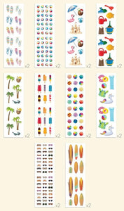 Just Beachy Scratch & Sniff Sticker Folio