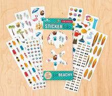 Load image into Gallery viewer, Just Beachy Scratch & Sniff Sticker Folio