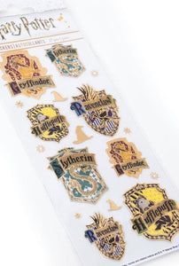 Harry Potter™ House Crest Faux Enamel Stickers