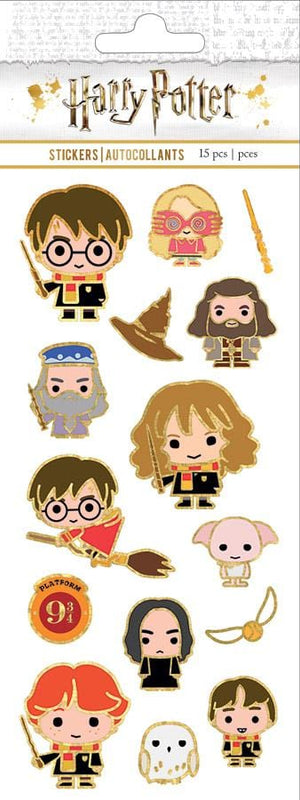 Harry Potter™ Chibi Faux Enamel Stickers