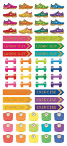 fitness functional sticker