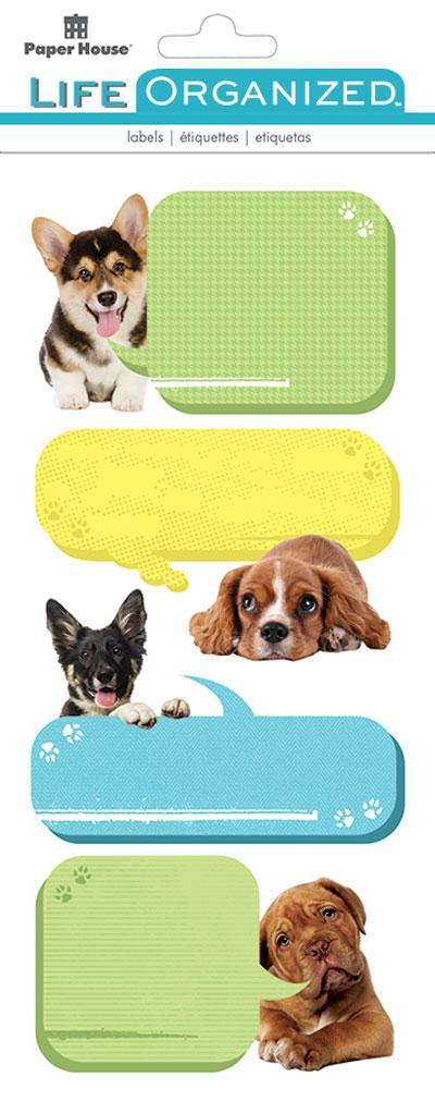 Puppies Labels