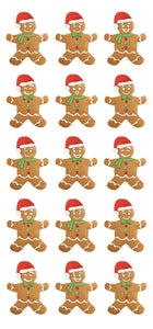 Gingerbread Puffy Sticker