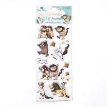 Load image into Gallery viewer, Where the Wild Things Are™ Characters Puffy Sticker