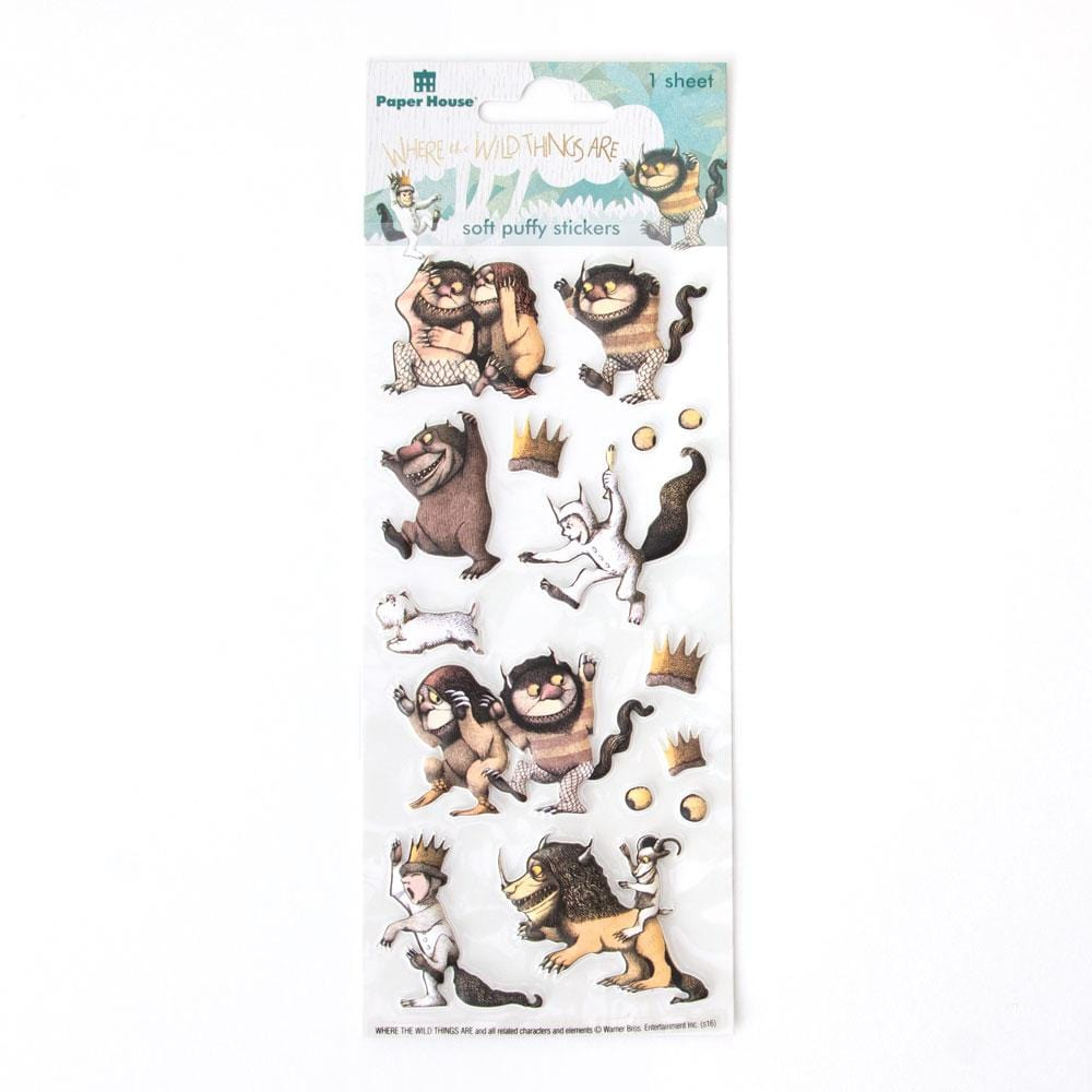 Where the Wild Things Are™ Characters Puffy Sticker