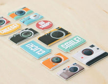 Load image into Gallery viewer, HP Moment Makers Camera Puffy Stickers