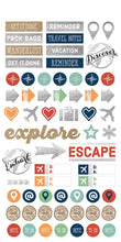 Load image into Gallery viewer, Travel Planner Stickers