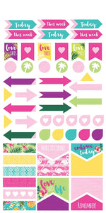 embrace today planner stickers