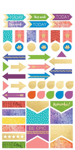 Live Bold Planner Stickers