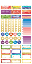 Load image into Gallery viewer, Live Bold Planner Stickers