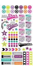 Load image into Gallery viewer, Sporty Girl Planner Stickers