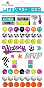 Sporty Girl Planner Stickers