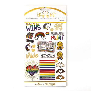Let Love Shine Weekly Kit Planner Stickers
