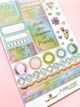 Load image into Gallery viewer, Self Care Pastels Weekly Kit Planner Stickers