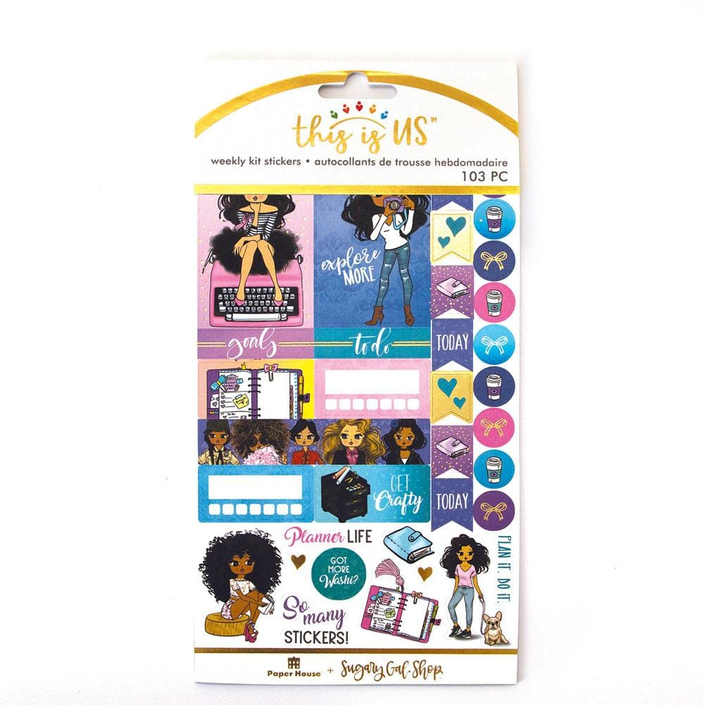 Planner Girl Weekly Kit Planner Stickers