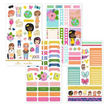 Load image into Gallery viewer, Just Be You Weekly Kit Planner Stickers