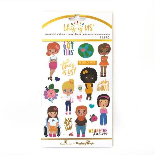 Just Be You Weekly Kit Planner Stickers